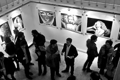 "INDIRA CESARINE & XXXX MAGAZINE ""CARTE BLANCHE"" EXHIBIT OPENING AT VISIONAIRS GALLERY PARIS"