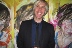"""BEN OLSON """"BLINK THROUGH THE PINK OF YOUR EYES"""" EXHIBIT OPENING"""