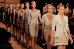 HERVE LEGER BY MAX AZRIA - NEW YORK S/S 2011 FASHION SHOW