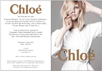 CHLOE RECEPTION TO BENEFIT NEW YORKERS FOR CHILDREN