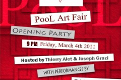 POOL ART FAIR LAUNCH PARTY - SPONSORED BY XXXX MAGAZINE