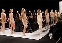 HERVE LEGER - NEW YORK F/W 2011 FASHION SHOW