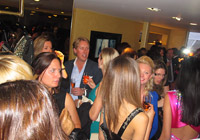 NINA NAUSTDAL COUTURE BOUTIQUE OPENING - LONDON