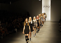 PPQ - LONDON S/S 2012 FASHION SHOW