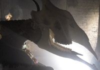 LAZARIDES GALLERY PRESENTS THE MINOTAUR EXHIBIT IN THE OLD VIC TUNNELS- LONDON