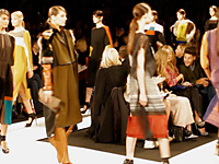 BCBG MAX AZRIA – NEW YORK F/W 2012 FASHION SHOW