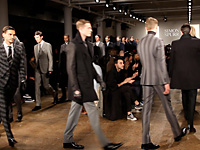 SIMON SPURR - NEW YORK F/W 2012 FASHION SHOW